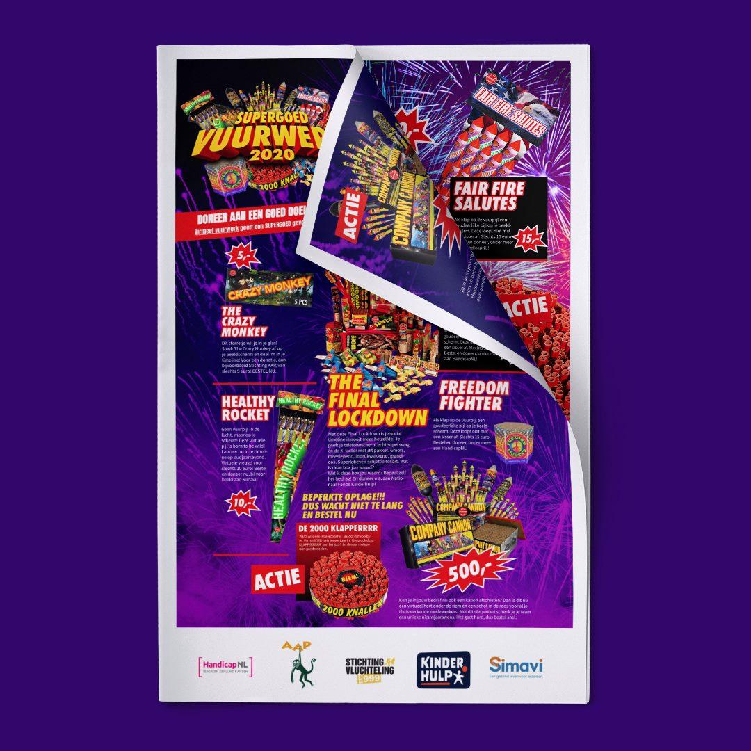 Supergoed Vuurwerk folder op Facebook
