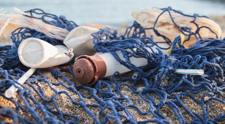 Dopper Wave - plastic op strand