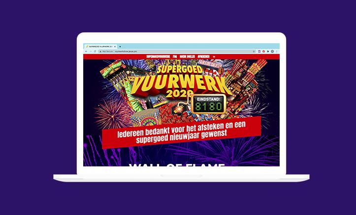 Supergoed Vuurwerk website